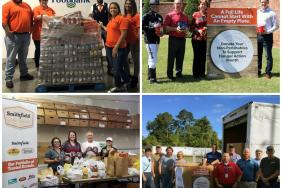 Smithfield Foods Employees Collect More Than 130,000 Pounds of Food to Support Feeding America® During Hunger Action Month® Image