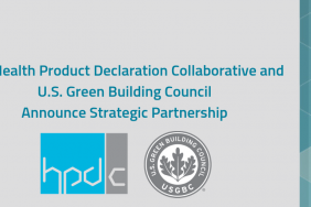The Health Product Declaration Collaborative and U.S. Green Building Council Announce Strategic Partnership Image