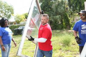 Habitat for Humanity and Wells Fargo Team Up with Veterans to Improve 100 Homes Image
