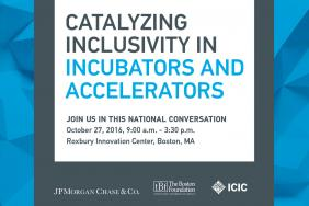 Boston Event Sparks a National Conversation on Diversity in Incubators and Accelerators Image