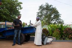 Using SMS Texts to Provide Weather Forecasts for Small Farmers  in West Africa Image