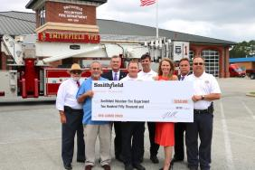 Smithfield Foods Supports Smithfield Volunteer Fire Department with $250,000 Contribution Image