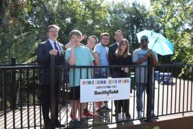 Smithfield Foods Donates $75,000 for Outdoor Learning Space at The Faison Center Image