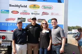 Smithfield Foods Donates 40,000 Pounds of Protein to Feed More Ahead of Federated Auto Parts 400 Image