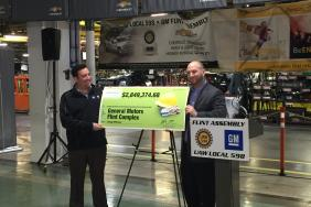 Consumers Energy Delivers $2.8 Million Incentive to General Motors for Energy Efficiency Upgrades in Flint Image