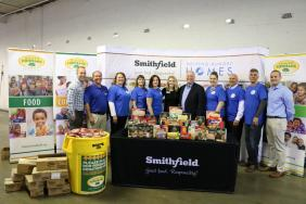 Smithfield Foods Donates More Than 39,000 Pounds of Protein to the Freestore Foodbank Image