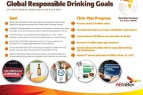 AB InBev Announces Significant One-Year Progress Toward Global Responsible Drinking Goals on Third Annual Global Be(er) Responsible Day Image