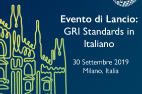GRI Standards Launched in Italian Image