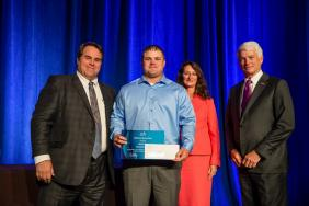 Consumers Energy Employee Receives American Gas Association Award for Saving Life of Accident Victim Image