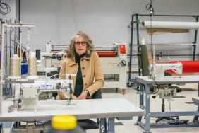 ISAIC, Industrial Sewing and Innovation Center, Centralizes Massive Surgical Mask and Gown Production Collaboration in Detroit Image