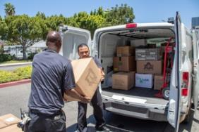 Los Angeles Convention Center Donates 26 Tons of Event Items & Carpet to Several Los Angeles Nonprofit Organizations Image