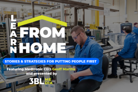 3BL Media 'Learn From Home' Series Features Medtronic CEO Geoff Martha, June 16 Image