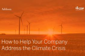 Learn How to Help Your Company Address the Climate Crisis in Free Webcast, December 5th Image