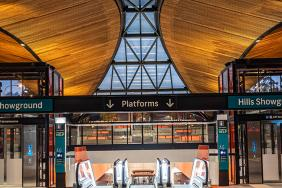 New Sydney Metro Northwest Stations Built Using 100% Responsibly Sourced Timber Image