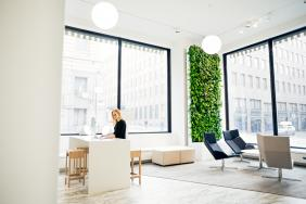 Delos™ Invests in Finnish Smart Green Wall Company Naava and Introduces Cutting Edge Technology to U.S. Market Image