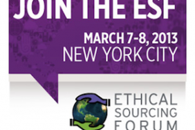 Changing Expectations of CSR - Join the Ethical Sourcing Forum 2013 Image