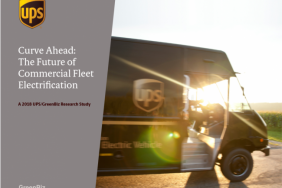 UPS/Greenbiz Study Identifies Motivators and Barriers to Electric Fleets Image