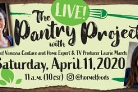 Hormel Foods Brings Its Pantry Project Live to Instagram Image
