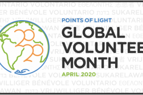 """Points of Light Marks April 2020 As First-Ever """"Global Volunteer Month"""" Image"""