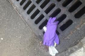 Keep America Beautiful: Watch Where You Toss Used Wipes and Gloves! Image