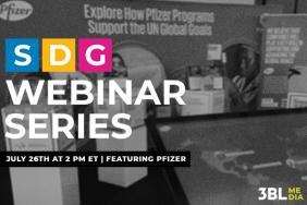 Business Aligns with SDGs: How Pfizer Takes Action to Support SDG 3 Image