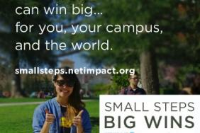 Campus Leaders Drive World Change Through Small Steps  Image