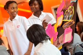 ING Foundation Awards College Scholarships to Girls Inc. Young Investors  Image