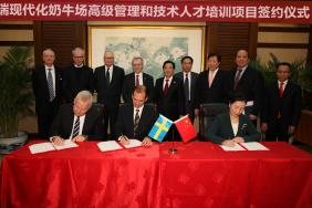 Tetra Pak and DeLaval Commit to Up-Skill Dairy Farm Management in China Image