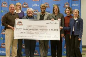Chicagoland Library wins $10,000 in books from JetBlue Airways and Random House Children's Books through Soar with Reading program Image