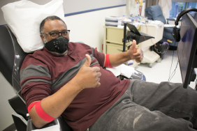 Relief From Sickle Cell Disease Made Possible by Red Cross and FedEx Image