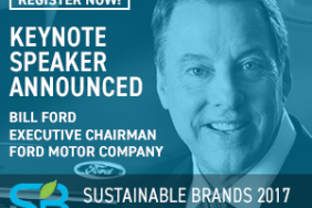 Sustainable Brands Announces Bill Ford as Opening Night Speaker for SB'17 Detroit Image