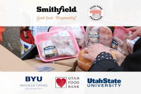 Smithfield Foods and Utah Pork Producers Association Partner to Fight Hunger During College Football Season Image