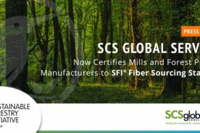 SCS Global Services Now Certifies Mills and Forest Product Manufacturers to SFI® Fiber Sourcing Standard Image