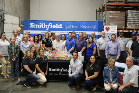 Smithfield Foods Donates 40,000 Pounds of Protein to Utah Food Bank Image