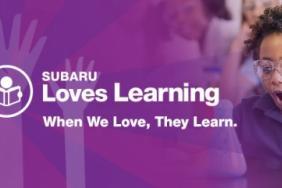 "Subaru Fosters Education Through Annual ""Subaru Loves Learning"" Initiative Image"