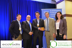 EcoVadis and Together for Sustainability win SPLC Market Transformation Award Image
