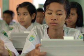 Connect to Learn: Aiming to Improve Learning Outcomes of Underprivileged Girls in Myanmar Image