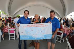 """Smithfield Foods """"Smokes Out Hunger"""" With 40,000 Pound Protein Donation To Food Bank of Iowa Image"""