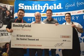 Smithfield Foods Donates $100,000 and 40,000 Pounds of Protein to DC Central Kitchen Image