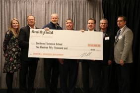 Smithfield Foods Supports Local Workforce Development Initiatives with $250,000 Contribution to Sioux Falls, South Dakota's Southeast Technical Institute Image