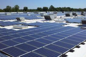 IKEA Plugs-in Addition to Solar Installation at Detroit-area Store in Canton, MI, Making Michigan's Largest Rooftop Array 25% Bigger. Image