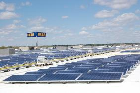 IKEA Completes State's Largest Rooftop Solar Array Atop  Recently Opened Kansas City-Area Store In Merriam, Kansas Image
