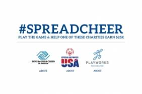 The AEG Community Foundation Launches Social Media Campaign #SpreadCheer Challenge to Kick Off AEG's 2019 Annual Season of Giving Image