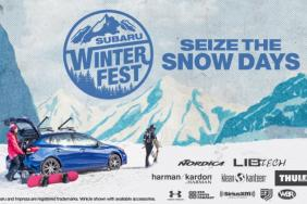 #SeizeTheSnowDays: Subaru WinterFest Lifestyle Tour Celebrates Winter Adventure Image