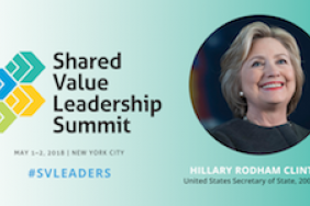 Just Announced - Hillary Rodham Clinton at #SVLeaders 2018! Image