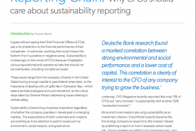 White Paper: The CFO and the Sustainability Reporting Chain Image