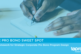 NEW RESOURCE: Taproot Releases the Pro Bono Sweet Spot Image