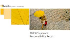 Symantec 2013 Corporate Responsibility Report Highlights Online Safety and Environmental Stewardship Image