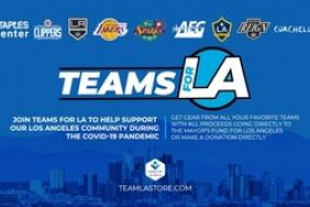 Local Sports Franchises Come Together to Create 'Teams For LA' to Benefit the Mayor's Fund for Los Angeles Image