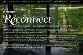 "Interface ""Reconnect Your Space"" Competition Invites Designs for Humans' Deep Seated Love of Nature Image"